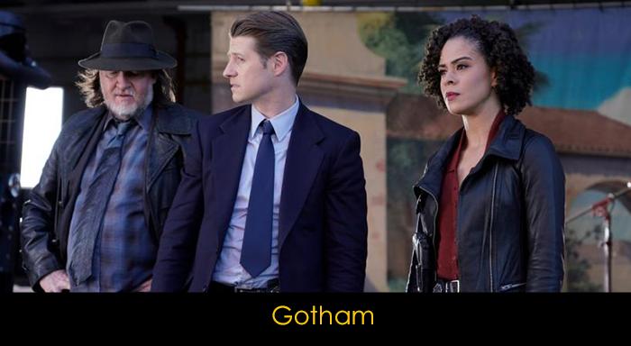 Çizgi roman dizileri - Gotham