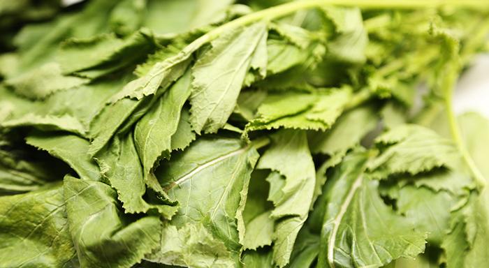 Düşük kalorili sebzeler - Hardal Otu