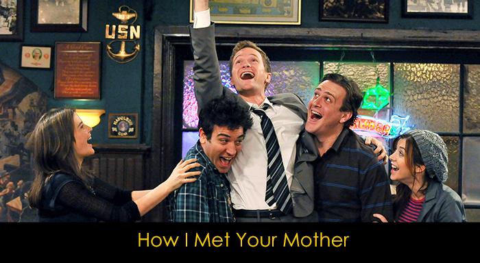 yemek yerken izlenebilecek diziler - How I Met Your Mother