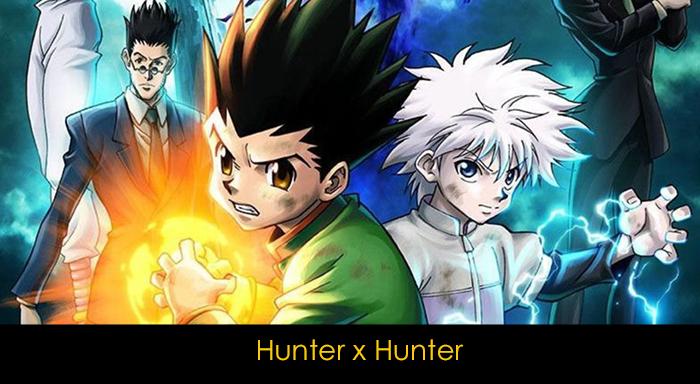 En iyi 20 anime - Hunter Hunter
