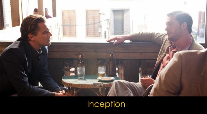 En iyi Tom Hardy filmleri - Inception