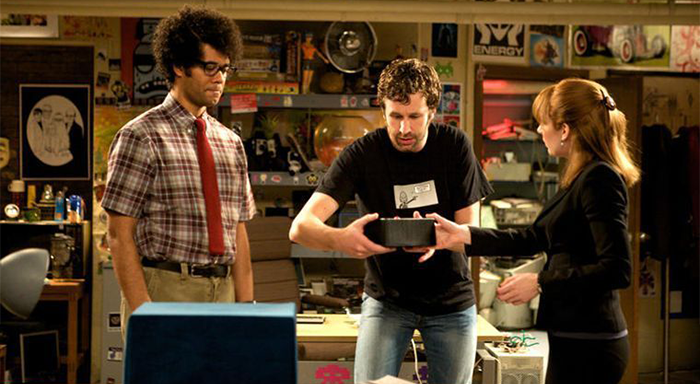 The IT Crowd dizisi konusu