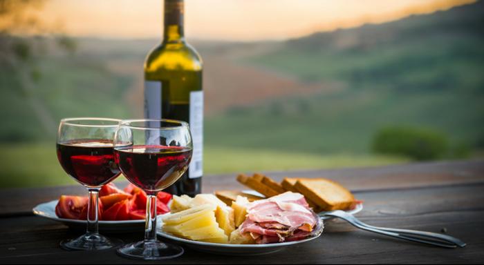 10 Maddede İtalyan Mutfağı - Şarap