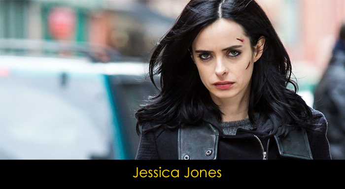 Jessica Jones Dizisi Oyuncuları - Jessica Jones