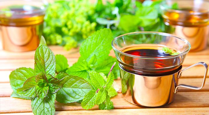 bitki çayı türleri - melisa çayı