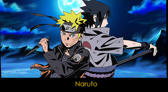 En iyi 20 anime - Naruto