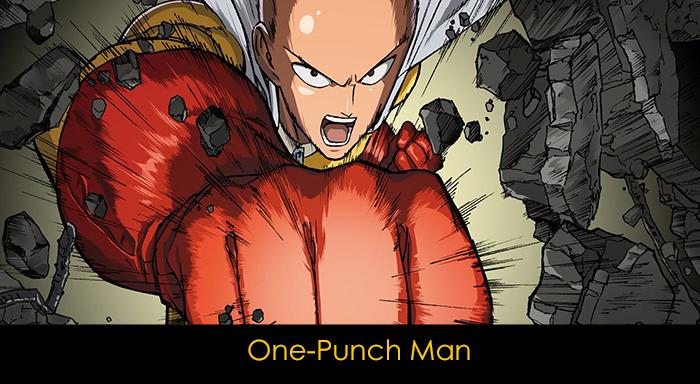 En iyi 20 anime - One-Punch Man