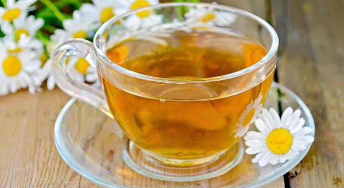 bitki çayı türleri - papatya çayı