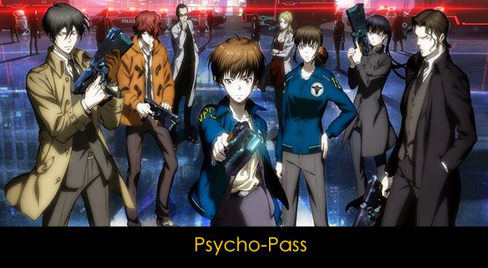 En iyi 20 anime - Psycho-Pass