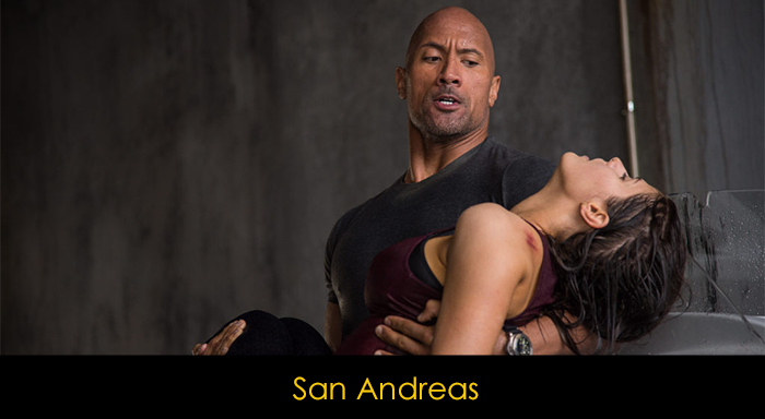 Dwayne Johnson filmleri - San Andreas