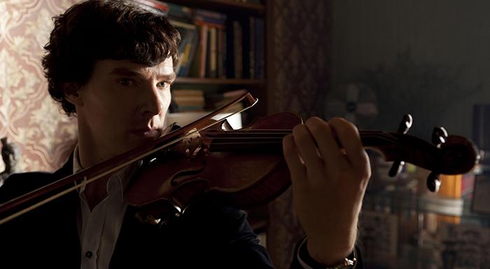 Sherlock Holmes testi - keman