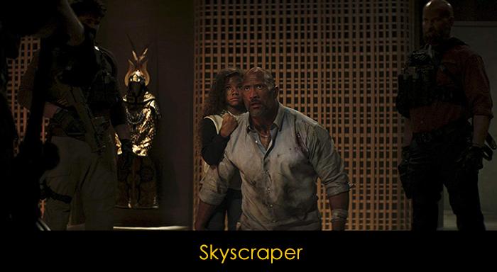 Dwayne Johnson filmleri - Skyscraper