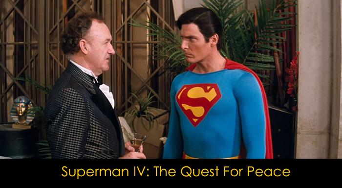 DC Filmleri - Superman IV