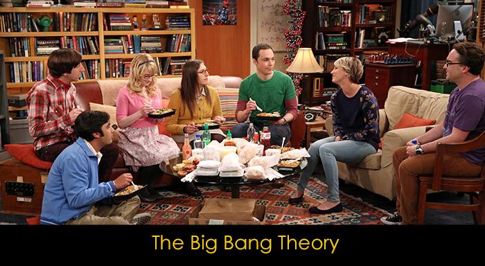 yemek yerken izlenebilecek diziler - The Big Bang Theory