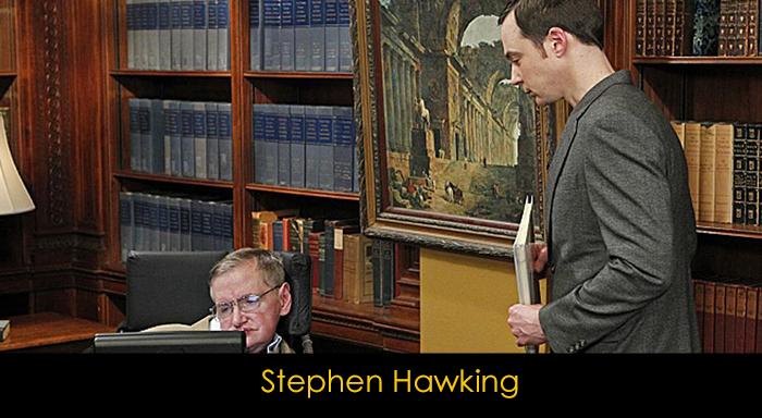 The Big Bang Theory oyuncuları - Stephen Hawking