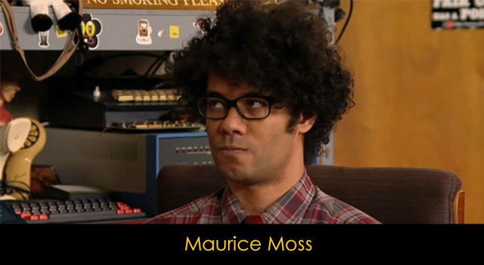 The IT Crowd dizisi oyucuları - Moss