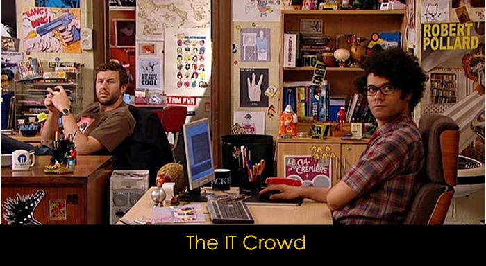 yemek yerken izlenebilecek diziler - The IT Crowd