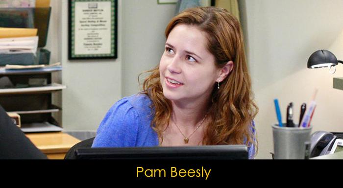 The Office dizisi oyuncuları - Pam