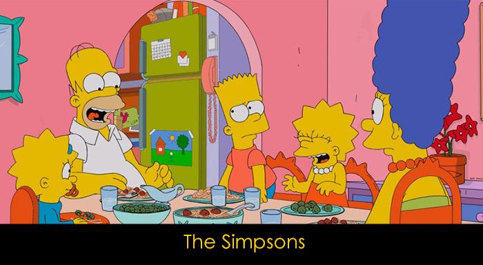 yemek yerken izlenebilecek diziler - The Simpsons