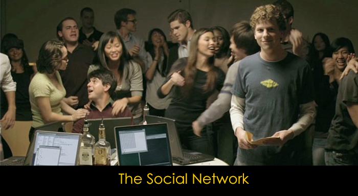 Gerçek Hayattan Uyarlanan En İyi 10 Film - The Social Network