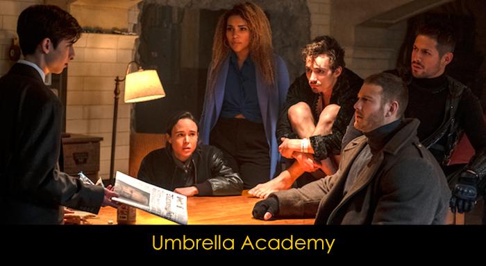 En İyi Amerikan Netflix dizileri - Umbrella Academy