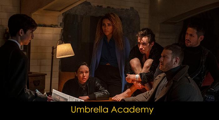 Çizgi roman dizileri - Umbrella Academy