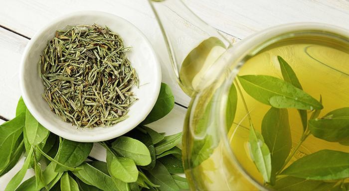 bitki çayı türleri - yeşil çay