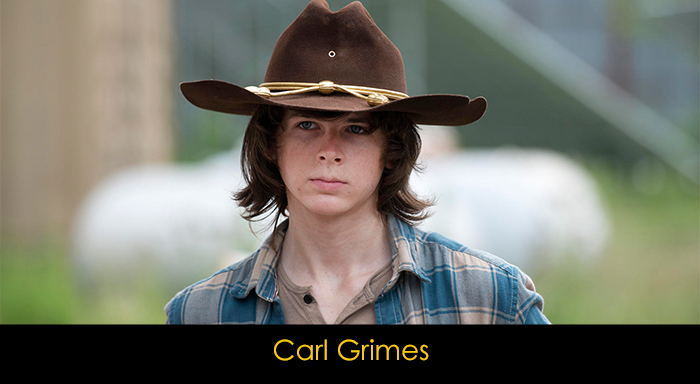 The Walking Dead oyuncuları - Carl Grimes