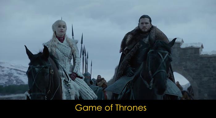En iyi fantastik diziler - Game of Thrones