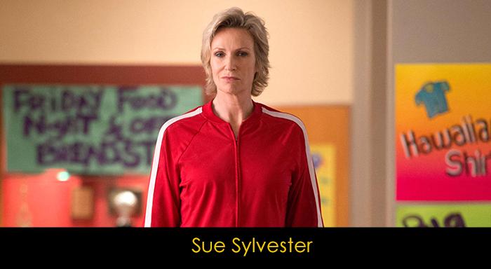 Glee dizisi oyuncuları - Sue Sylvester