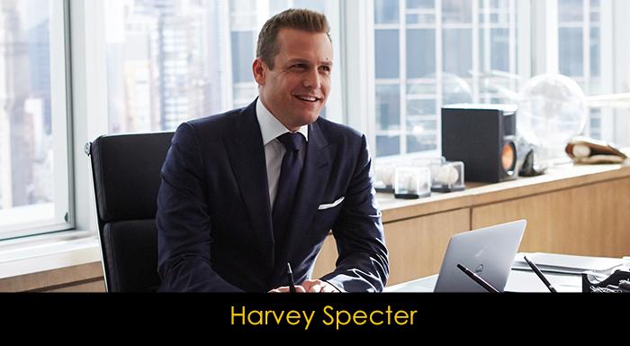 Suits dizisi oyuncuları - Harvey Specter