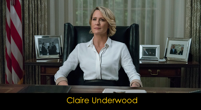 House of Cards Oyuncuları - Claire Underwood