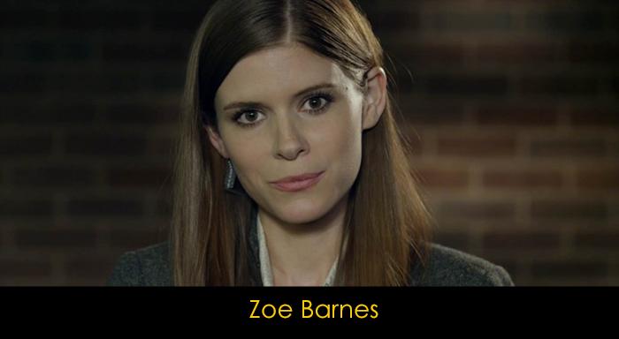 House of Cards Oyuncuları - Zoe Barnes