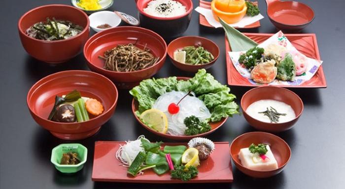 Japon mutfağı - vegan yemekleri