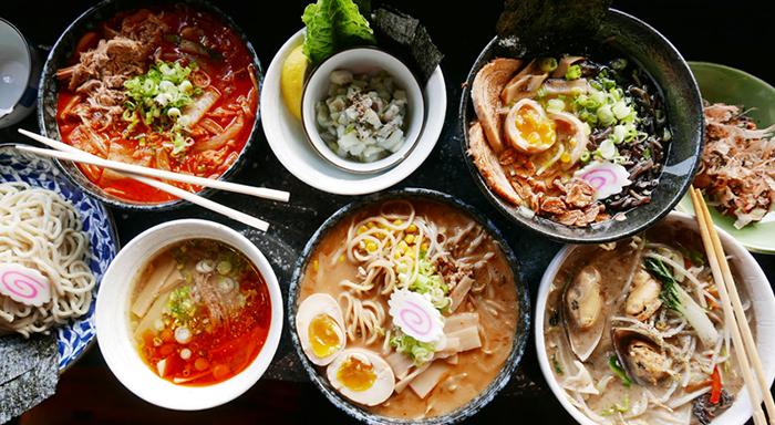 Japon mutfağı sofraları