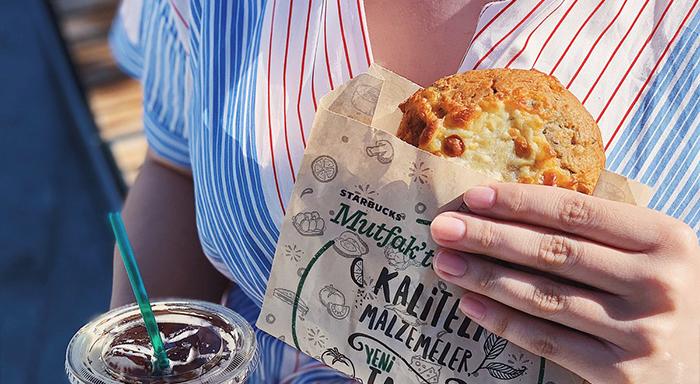 Starbucks fit ürünler - Karabuğday Unlu Poğaça