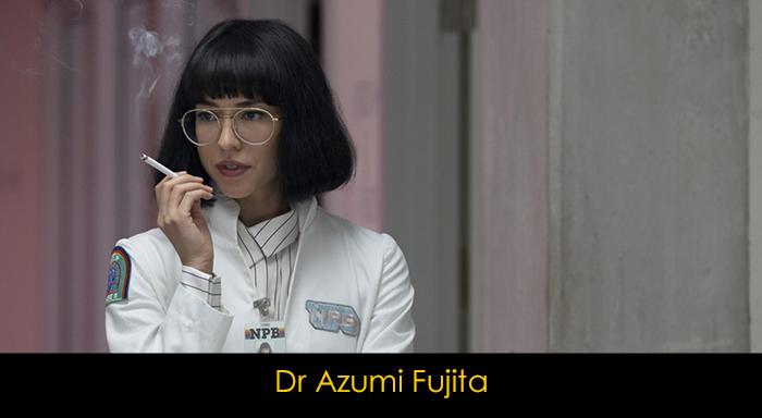 Maniac dizisi oyuncuları - Dr Azumi Fujita