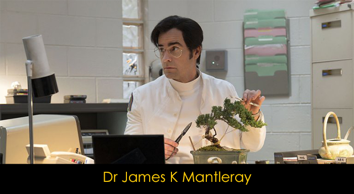 Maniac dizisi oyuncuları - Dr James K Mantleray