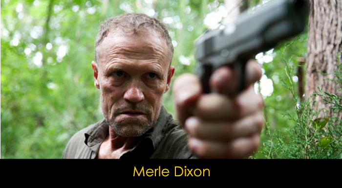 The Walking Dead oyuncuları - Merle Dixon