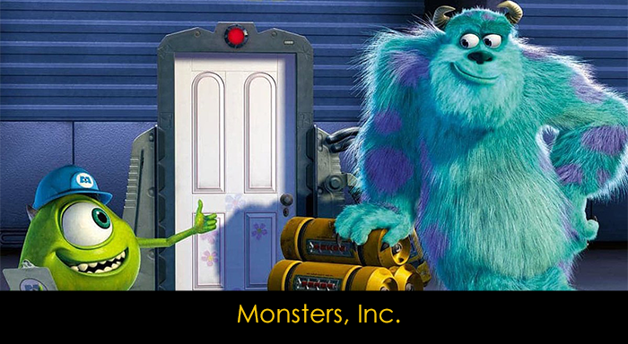 Pixar filmleri - Monsters, Inc