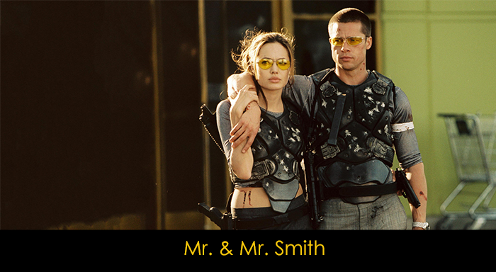 En iyi Angelina Jolie filmleri - Mr. and Mrs. Smith