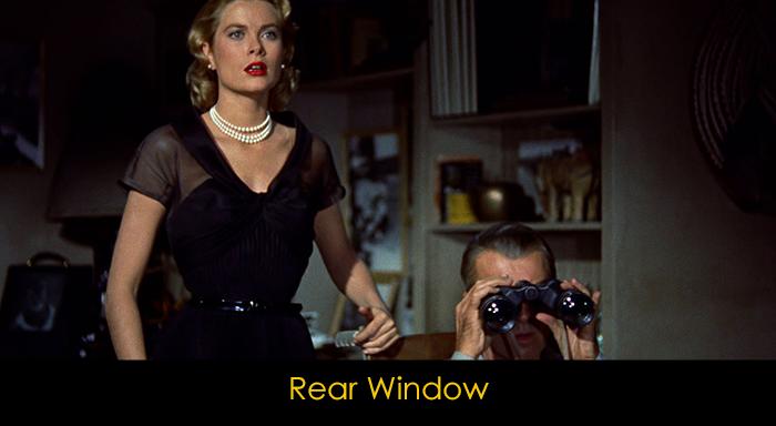 En iyi gerilim filmleri - Rear Window