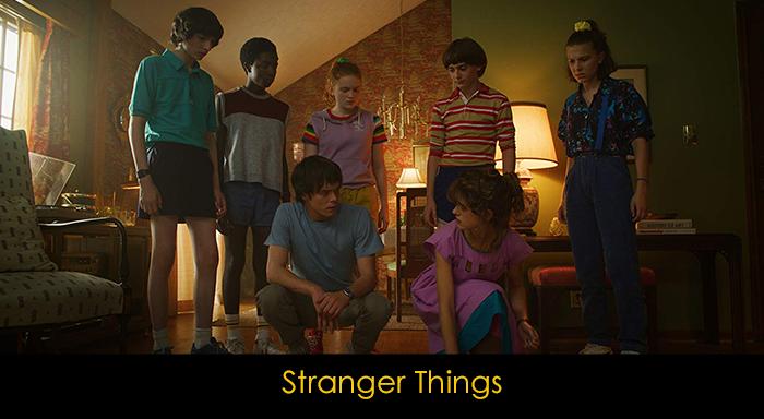 En iyi fantastik diziler - Stranger Things