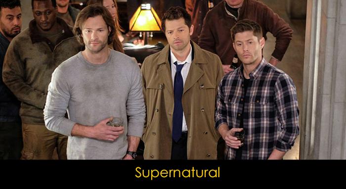 En iyi fantastik diziler - Supernatural