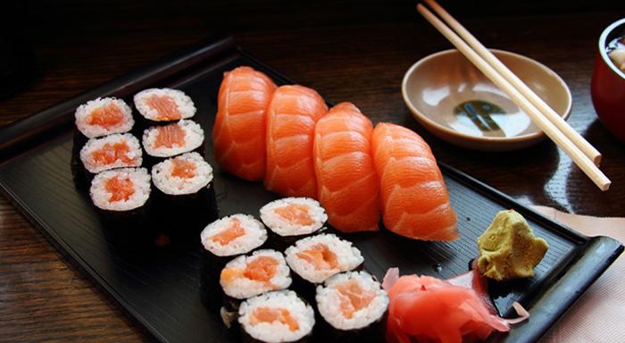 Japon mutfağı - sushi