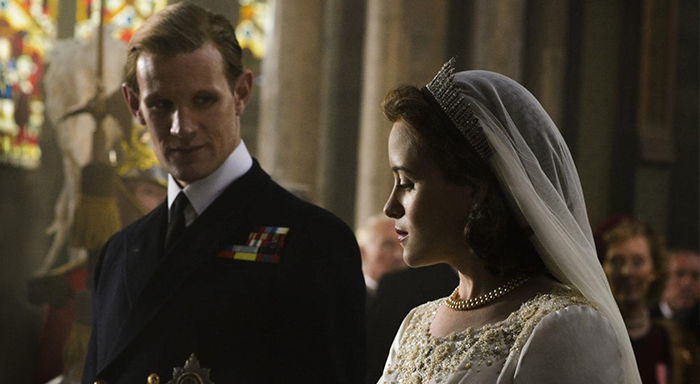 The Crown dizisi Claire Foy ve Matt smith