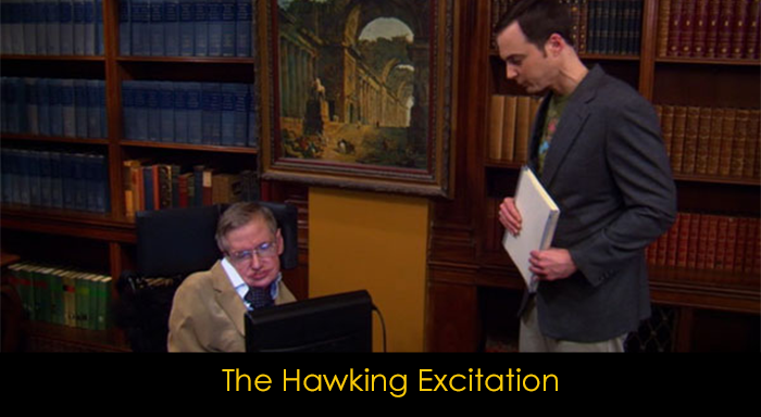 En iyi 15 The Big Bang Theory bölümü - The Hawking Excitation