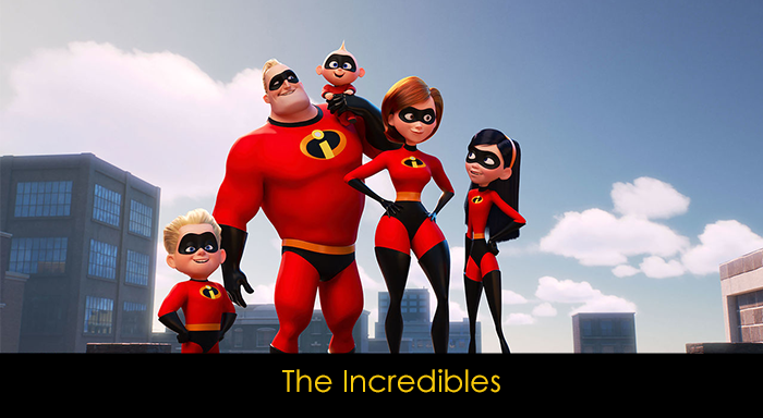 Pixar filmleri - The Incredibles