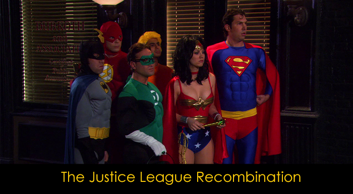 En iyi 15 The Big Bang Theory bölümü - The Justice League Recombination
