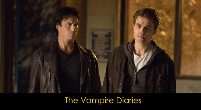 En iyi fantastik diziler - The Vampire Dairies